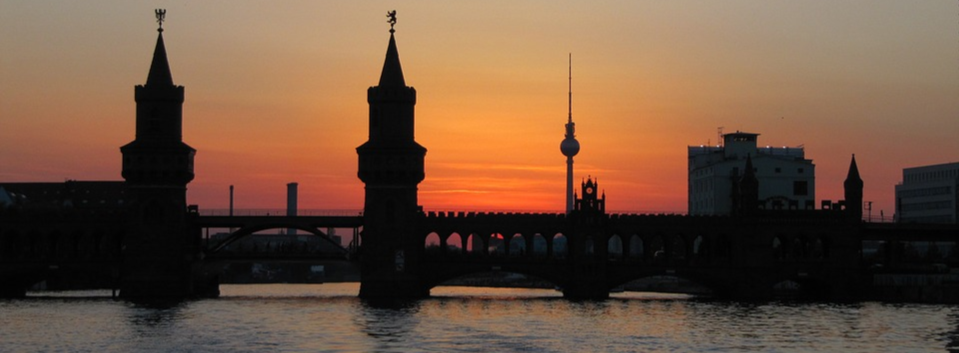 Berlin Sunset Skyline